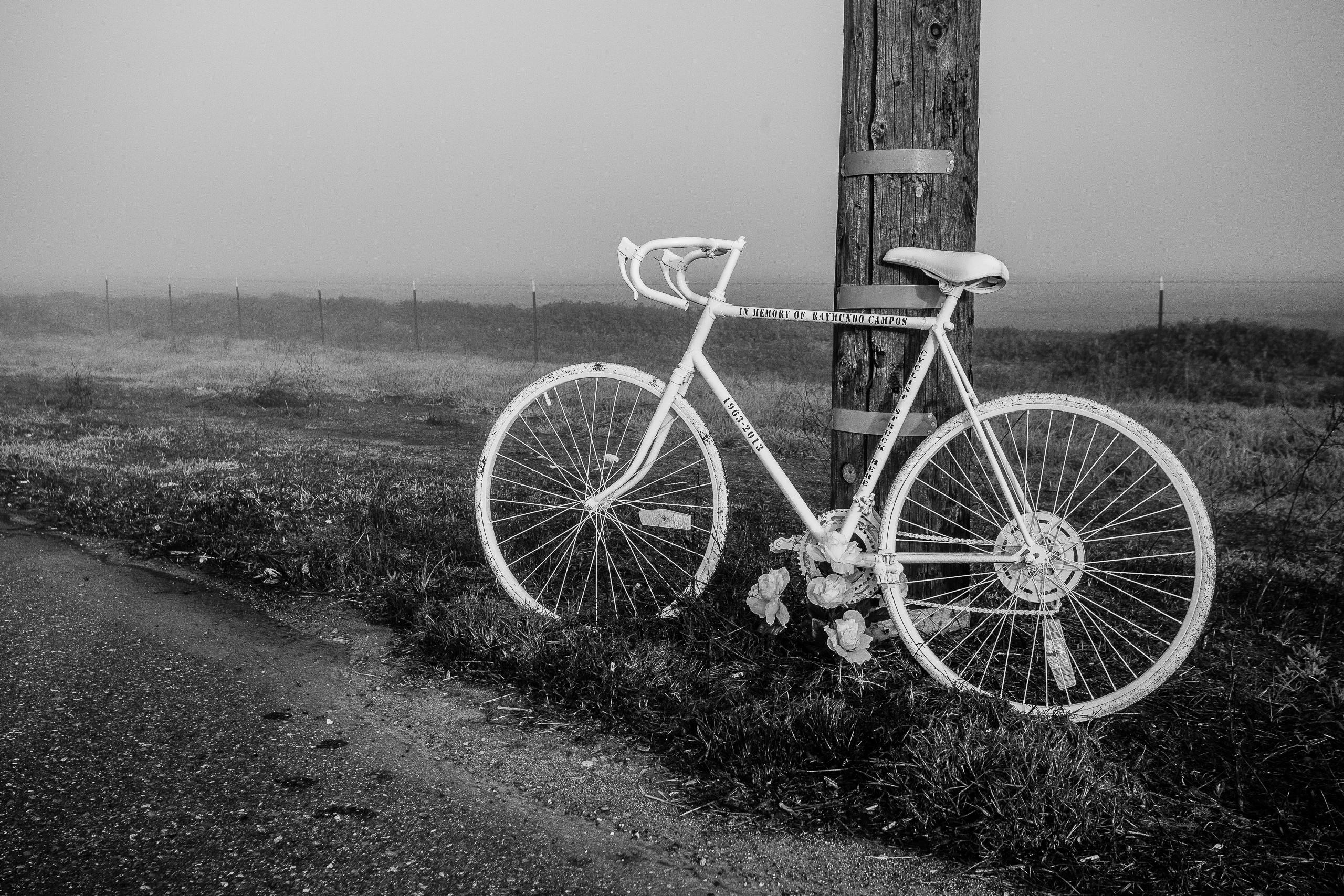 A Ghost Bike