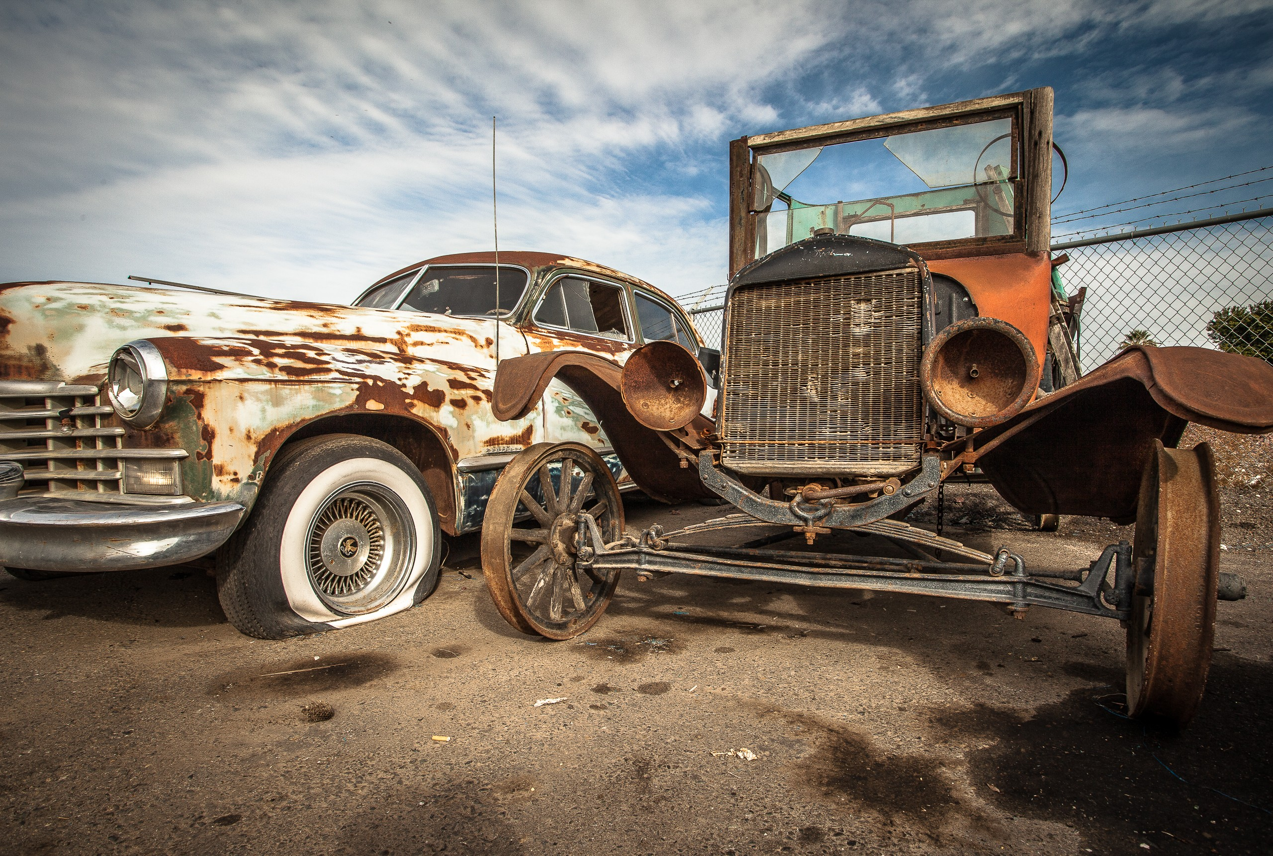 Junk Yard Time Machine