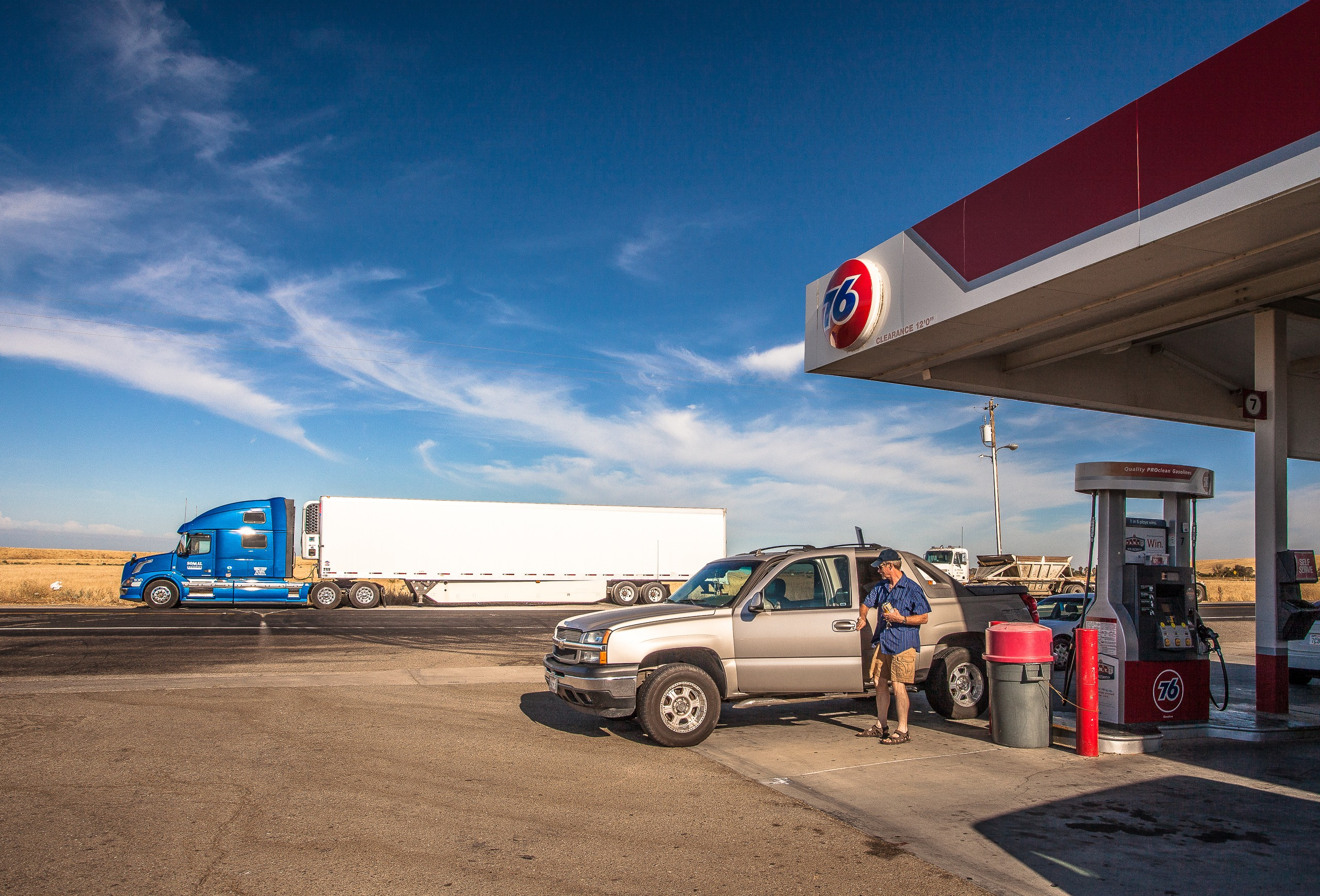 An American Truck Stop
