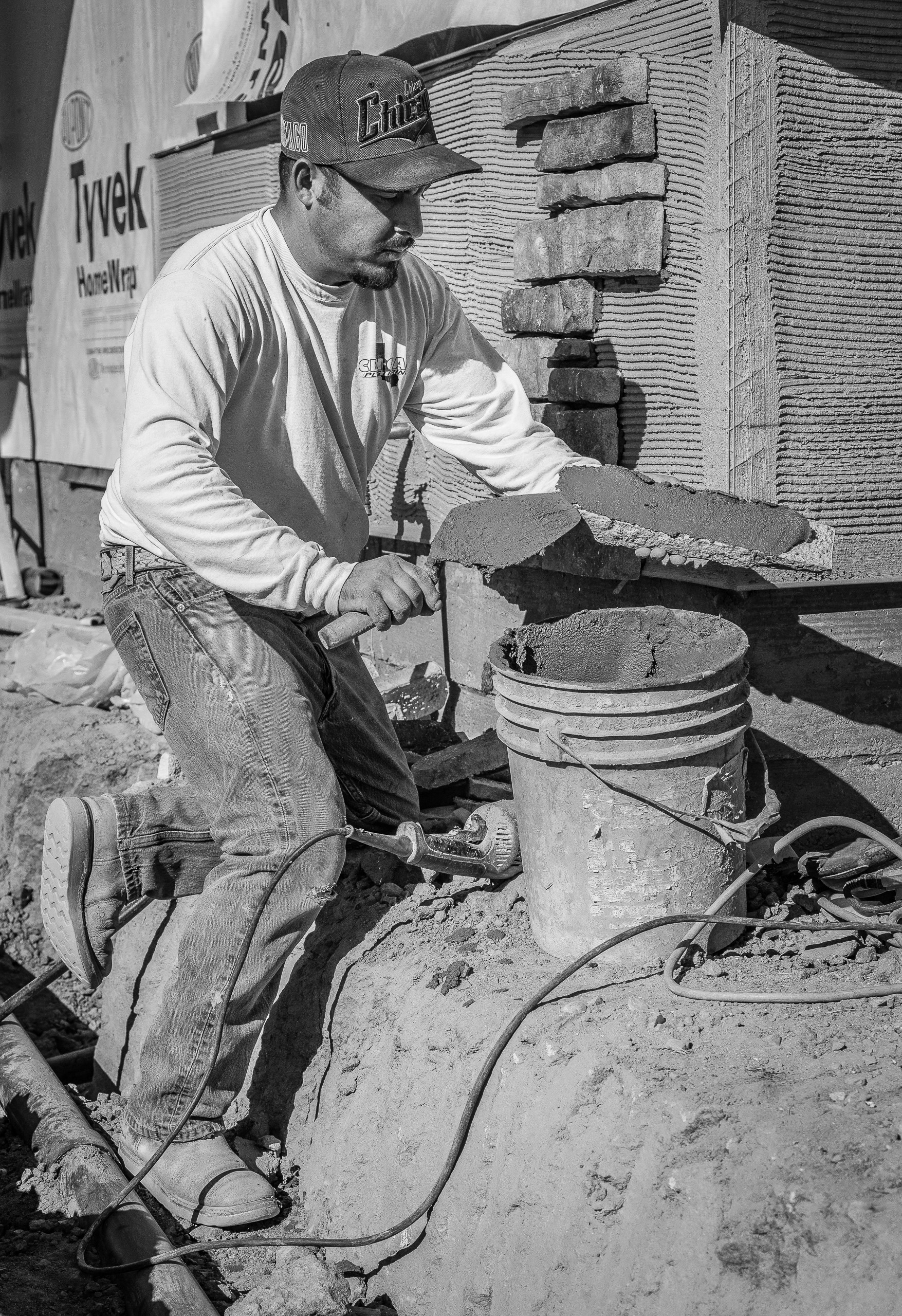 Spreading The Mortar