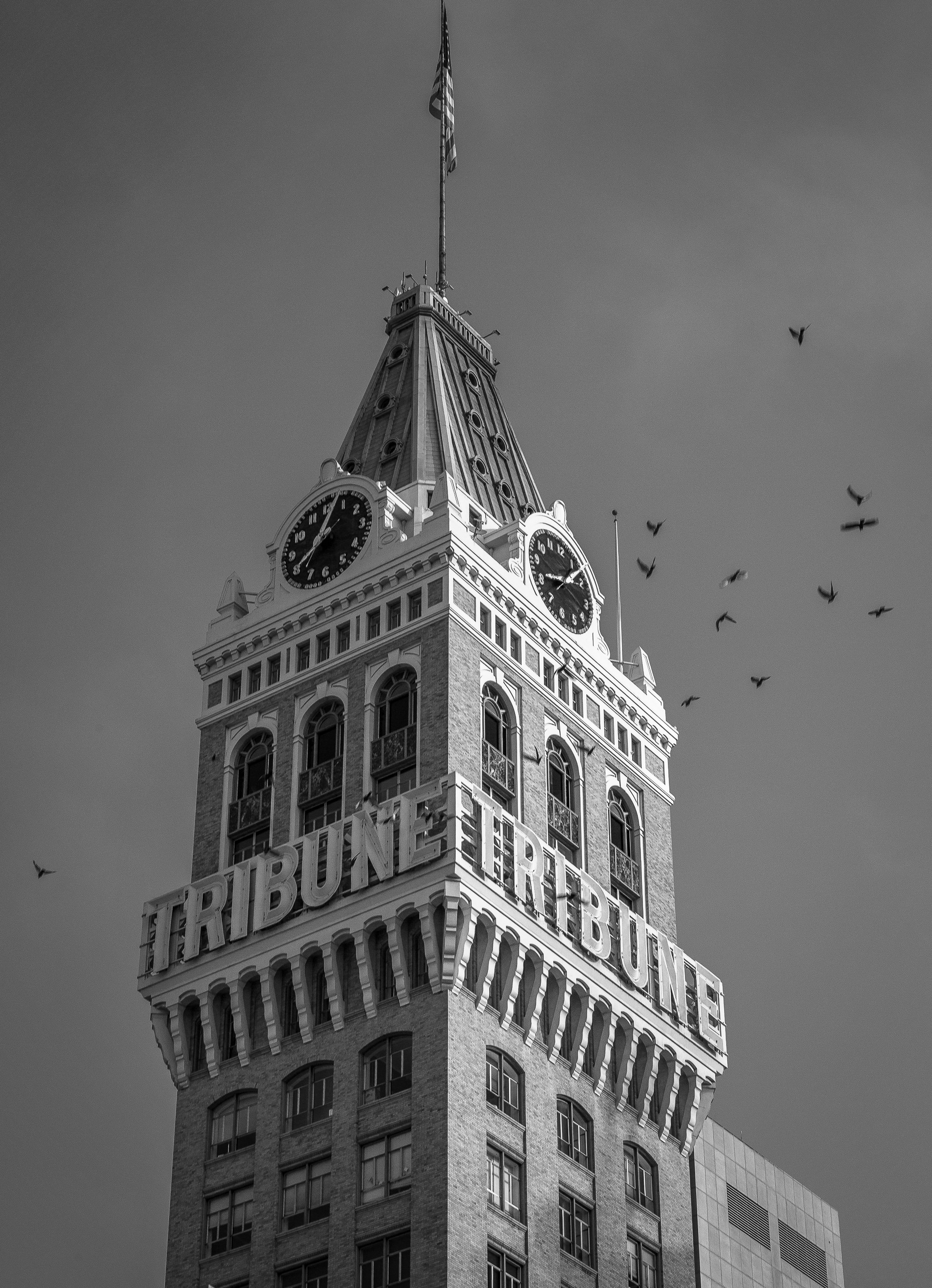 All Along The Clock Tower